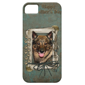 Fathers Day - Stone Paws - Vallhund iPhone SE/5/5s Case