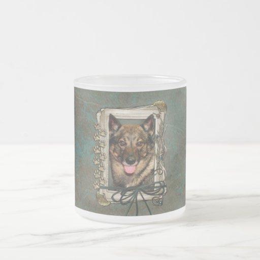 Fathers Day - Stone Paws - Vallhund Mugs
