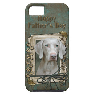 Fathers Day - Stone Paws - Weimaraner iPhone SE/5/5s Case