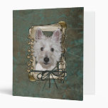 Fathers Day - Stone Paws - West Highland Terrier Binder