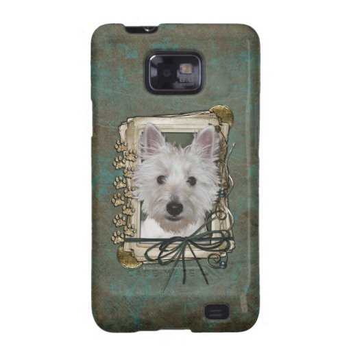 Fathers Day - Stone Paws - West Highland Terrier Samsung Galaxy S2 Case