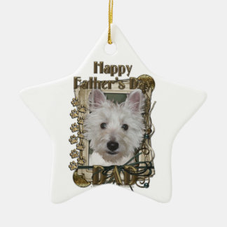 Fathers Day - Stone Paws - West Highland Terrier Ornaments