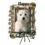 Fathers Day - Stone Paws - West Highland Terrier Acrylic Cut Out