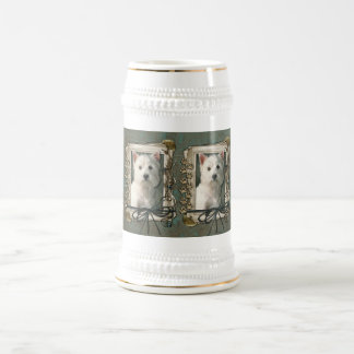 Fathers Day - Stone Paws - Westie Beer Stein