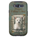 Fathers Day - Stone Paws - Westie Samsung Galaxy SIII Covers