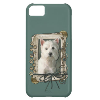 Fathers Day - Stone Paws - Westie iPhone 5C Cover