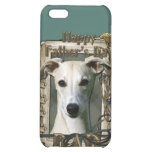 Fathers Day - Stone Paws - Whippet - Dad iPhone 5C Cases