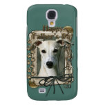 Fathers Day - Stone Paws - Whippet Galaxy S4 Cover