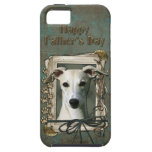 Fathers Day - Stone Paws - Whippet iPhone 5 Cases