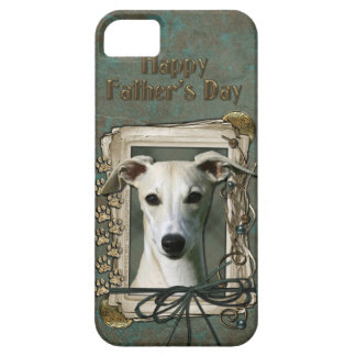 Fathers Day - Stone Paws - Whippet iPhone SE/5/5s Case