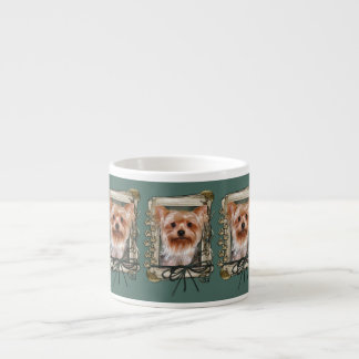 Fathers Day - Stone Paws - Yorkshire Terrier Espresso Cup