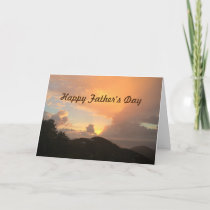 "Father's Day sunrise from ""us"" Greeting Card"