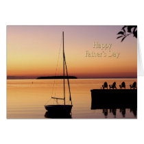 Father's Day Sunset Card