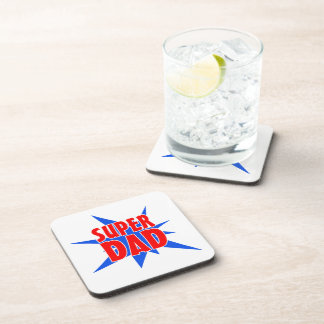 Father's Day Super Dad Coasters