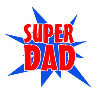 Father's Day Super Dad Magnet