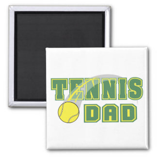 Father's Day Tennis Dad Magnet