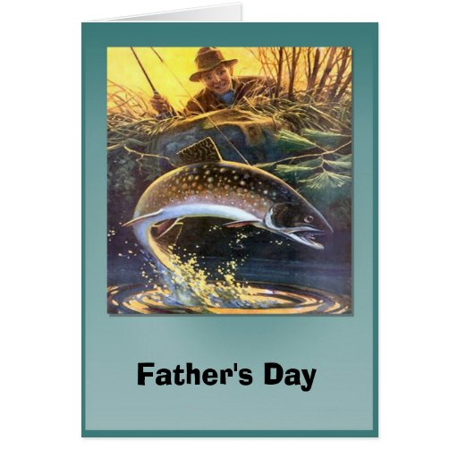 Father's day - The one that got away Greeting Card