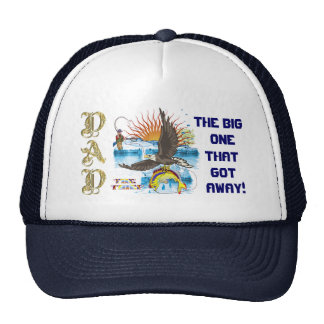 """Fathers Day """"The Thief"""" Set 1 View Hints Trucker Hat"""