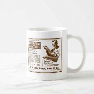 Father's Day Tie ad June 1928 Coffee Mug