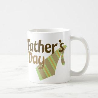 Father's Day Tie Classic White Coffee Mug