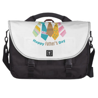 Fathers Day Ties Laptop Bags