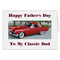 **FATHER'S DAY** TO THE MAN WHO RAISED ME CARD