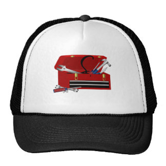 Father's Day Tool Box Initial S Hat