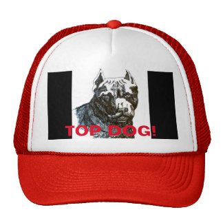 FATHERS DAY TOP DOG DAD'S WORK CAP! TRUCKER HAT