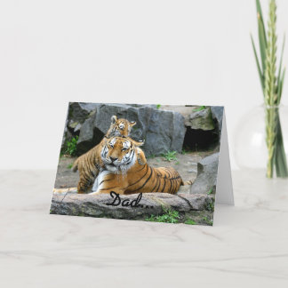 Father's Day Top Tiger Card