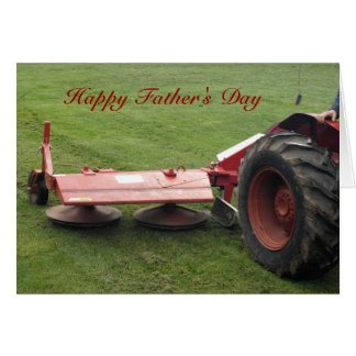 Father's Day Tractor Card