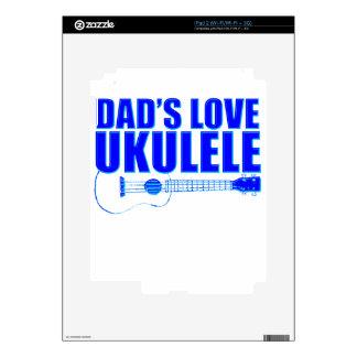 FATHER'S DAY UKULELE SKIN FOR iPad 2
