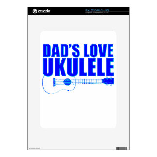 FATHER'S DAY UKULELE SKIN FOR THE iPad