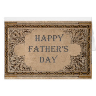 Father's Day Vintage Card