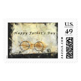 Father's Day, Vintage, Eyeglasses Art Stamps