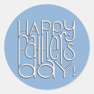 Fathers Day white Sticker