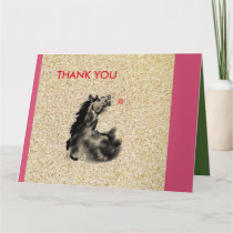 Father's Day with horse pics Card