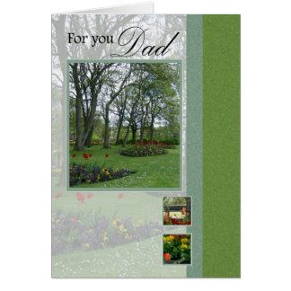 Father's day Woodland Park Card