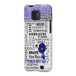 Fathers Day Word Collage Version Two Galaxy S2 Samsung Galaxy S2 Cover