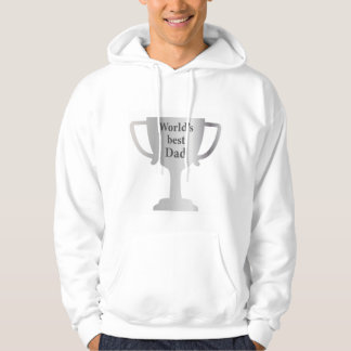 Fathers Day Worlds Best Dad Cup Hoodie