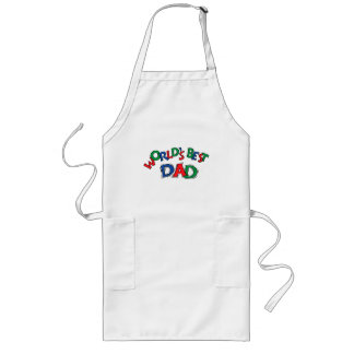 Father's Day World's Best Dad Long Apron