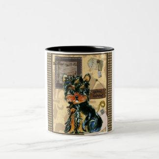 FATHER'S DAY YORKIE Two-Tone COFFEE MUG