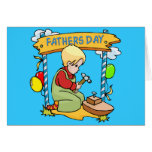 Father's Day: Young Woodworker Greeting Card