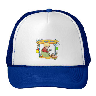 Father's Day: Young Woodworker Trucker Hat