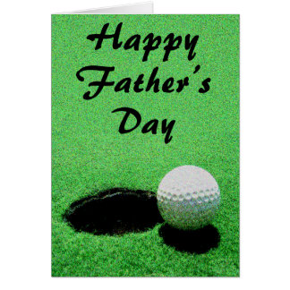 Father's Golf Day Card