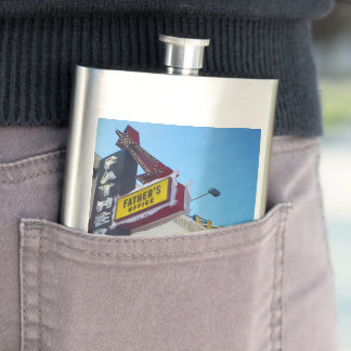 Father's Office Flask