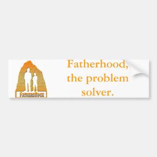 Fathers Rock Bumper Sticker Car Bumper Sticker