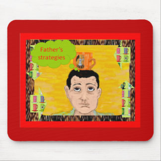 Father's stategies Mouse-Pad Mousepad
