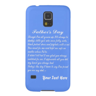FathersDay V2 by Martha Valencia view about Design Galaxy S5 Case
