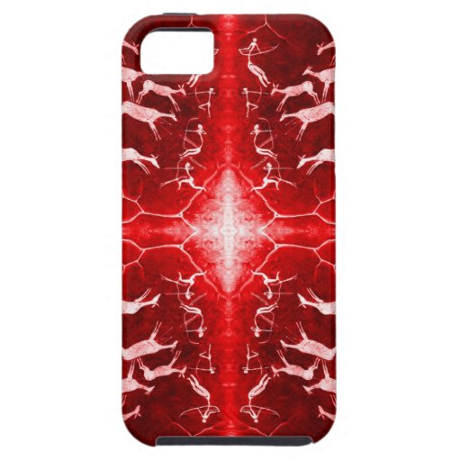 Fathoming Time - a Cave Painting Case iPhone 5 Case