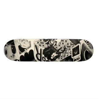 fatigue custom skate board